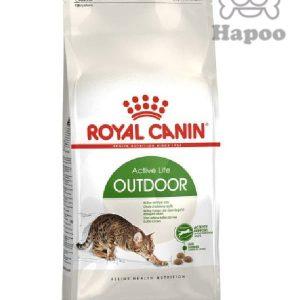 غذای خشک گربه رویال کنین مدل Outdoor وزن 2 کیلوگرم