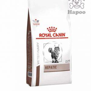 غذای خشک گربه رویال کنین مدل hepaticوزن 2 کیلوگرم