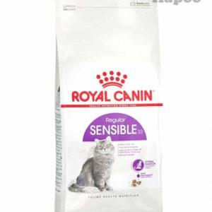 غذای خشک گربه بالغ رویال کنین مدل Sensible 33 وزن 2کیلوگرم