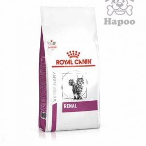 غذای خشک گربه رویال کنین مدل RENAL وزن 2 کیلوگرم