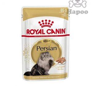 پوچ گربه رویال کنین مدل persian وزن 85 گرم بسته 12 عددی