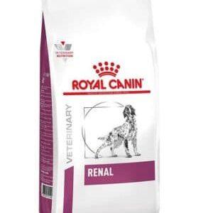 غذای خشک سگ رویال کنین مدل RENAL وزن 2 کیلوگرم