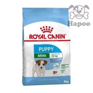 غذای خشک سگ رویال کنین مدل mini puppy وزن 2کیلو گرم